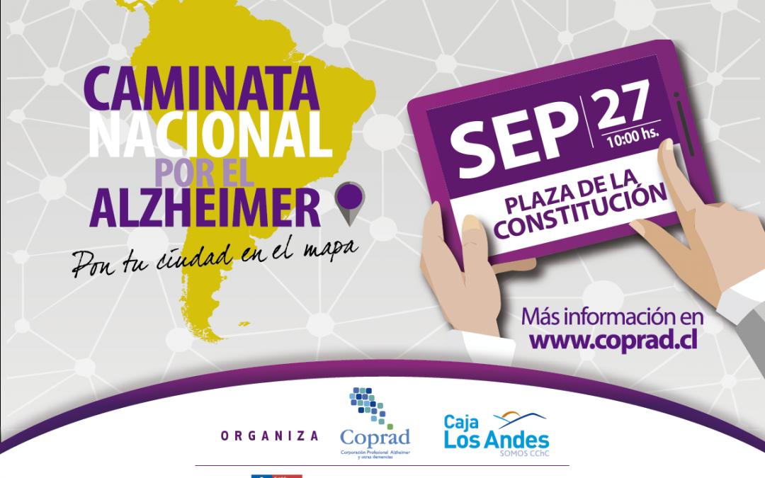 CAMINATA NACIONAL 27 DE SEPTIEMBRE 2016 SANTIAGO Y COPIAPO 10:00 HRS