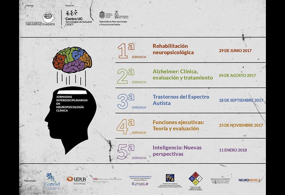 SEGUNDO CICLO DE JORNADAS INTERDISCIPLINARIAS DE NEUROPSICOLOGÍA CLÍNICA