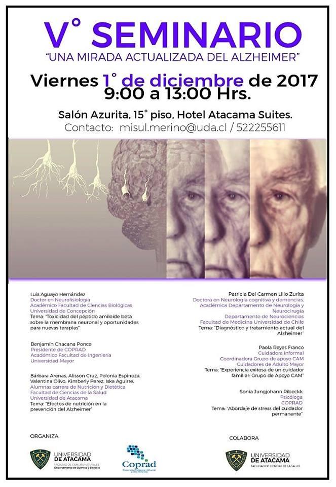 seminario una mirada actualizada sobre el alzheimer