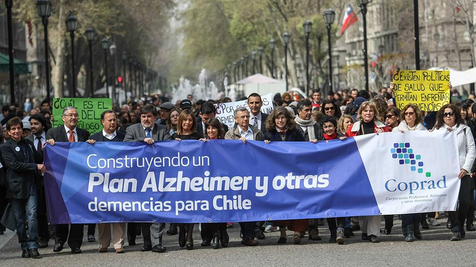 COPRAD propulsor del plan de demencias en Chile