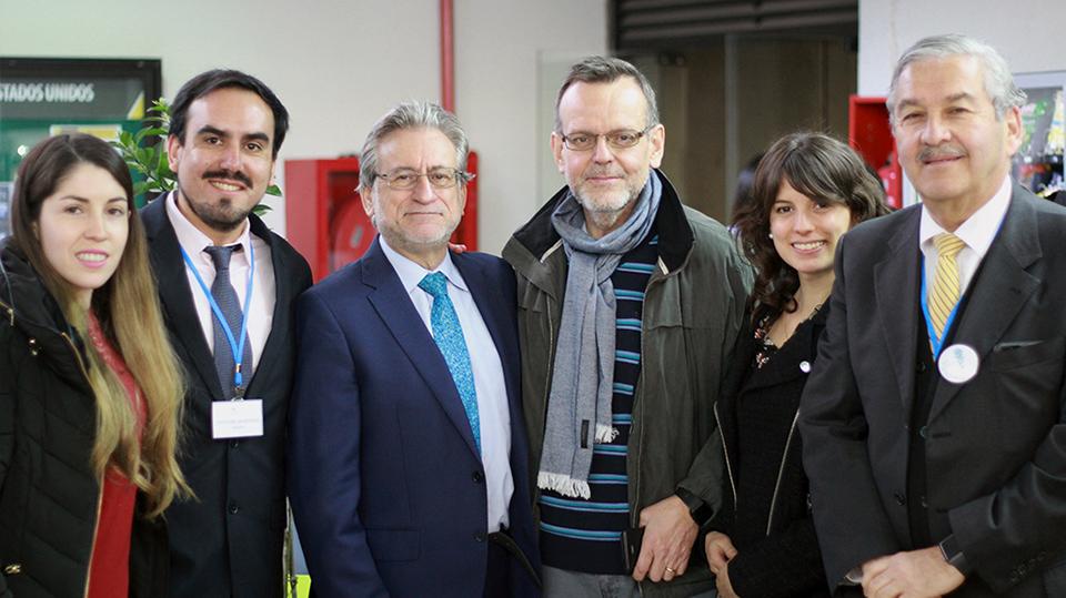 Jordi Peña, Benjamín Chacana, Cristobal Mardones en Universidad Mayor - COPRAD