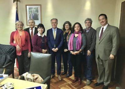 COPRAD se reunió con el ministro Moreno para coordinar nuevos impulsos en políticas intersectoriales