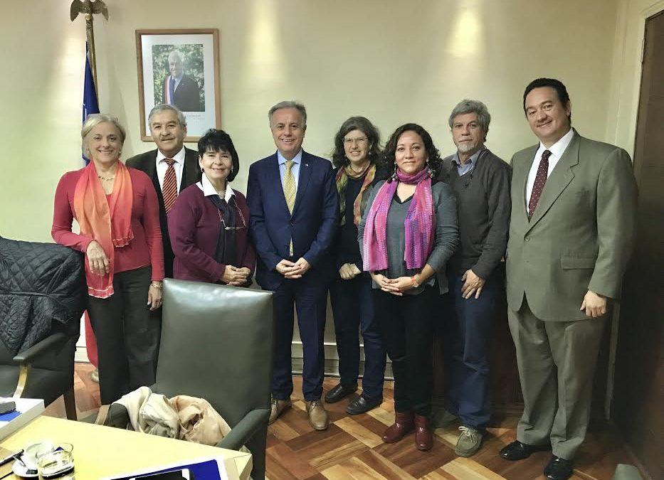 COPRAD SE REUNE CON MINISTRO MORENO PARA COORDINAR NUEVOS IMPULSOS EN POLÍTICAS INTERSECTORIALES
